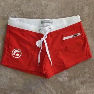 Taddlee Swim Trunks Briefs Brazilian Red M